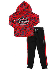 Sets - 2Pc L/S Jrsy Hooded Tee Jogger Set (4-7)-2417456
