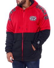 Ecko - Printed Heavy Jersey / Lined Sherpa (B&T)-2417892