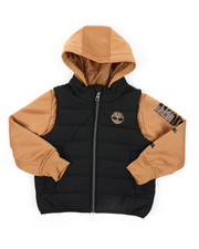 Light Jackets - Ravine Hybrid Jacket (4-7)-2418059