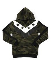 Hoodies - Camo Fashion Hoodie (8-18)-2418344