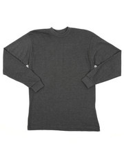 Arcade Styles - Long Sleeve Crew Neck Tee (8-20)-2418386