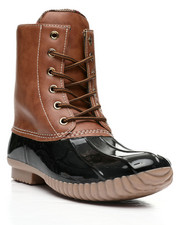 Fashion Lab - Lace Up Duck Boot-2418391