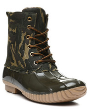 Fashion Lab - Lace Up Duck Boots-2418354