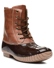 Fashion Lab - Lace Up Duck Boots-2418377