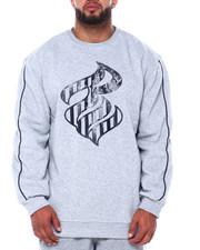 Pullover Sweatshirts - No Stress Crew Top (B&T)-2416305