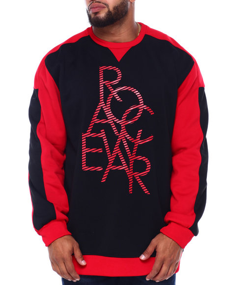 Rocawear - Stacked Crew Top (B&T)