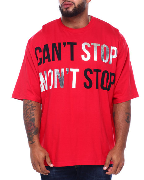 Sean John - Can't Stop Won't Stop S/S Tee (B&T)