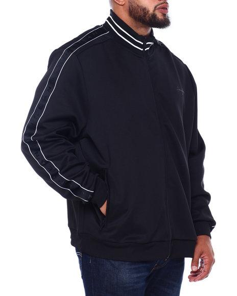 Sean John - Logo Tapin Neoprene Track Jacket (B&T)