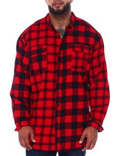 Sean John - L/S Color Block Check Shirt (B&T)-2418098