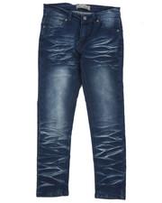 Boys - Moto Denim Stretch Jeans (8-18)-2419009