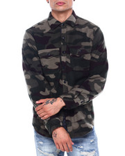 Mens-Fall - CAMO FLEECE FRANK SHIRT-2418764