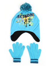 Girls - Toy Story Pom Hat With Gloves Set-2419113