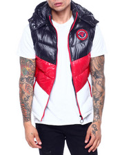Vests - Colorblock Hooded Vest-2418839