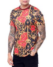Shirts - DOTS AND  FILIGREE TEE-2419213