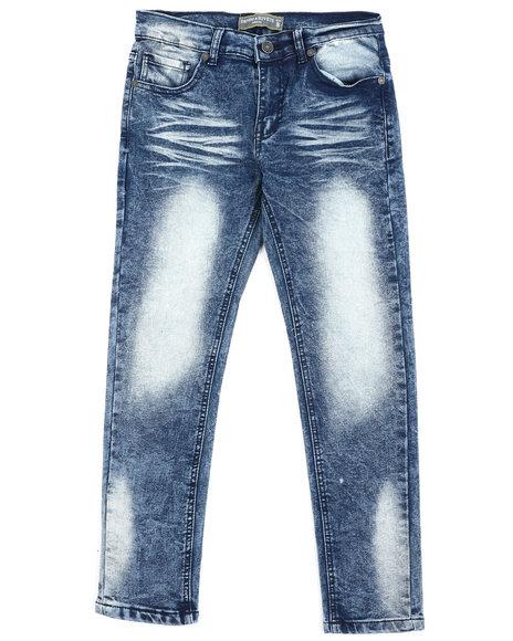 Arcade Styles - Moto Denim Stretch Jeans (8-18)