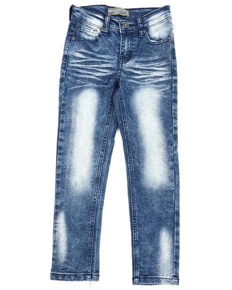 Arcade Styles - Moto Denim Stretch Jeans (4-7)