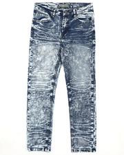Boys - Moto Denim Stretch Jeans (8-18)-2418952