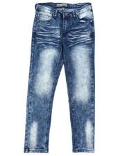 Boys - Moto Denim Stretch Jeans (8-18)-2418997