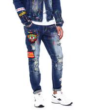 Buyers Picks - HANDPAINTED TIGER MOTO JEAN-2418567