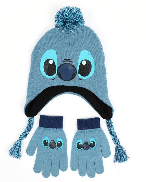 Arcade Styles - Stitch Pom Peruvian Hat Set