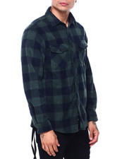 Shirts - BUFFALO PLAID FRANK POLAR FLEECE SHIRT-2418781