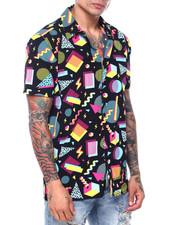 Buyers Picks - Geo Pattern SS Woven Shirt-2419223