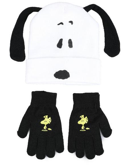 Arcade Styles - Snoopy Beanie Set