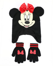 Winter Accessories - Minnie Peruvian Hat Set-2419894