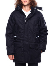 Heavy Coats - Tech Parka w Built in Scarf-2419588
