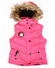 Canada Weather Gear - Canadian Weather Puffer Vest (7-16)-2420355