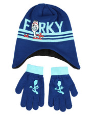 Winter Accessories - Toy Story Forky Peruvian Beanie Set-2419897