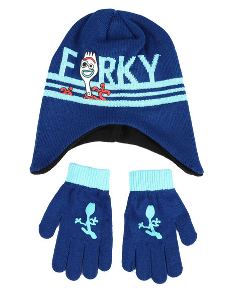 Arcade Styles - Toy Story Forky Peruvian Beanie Set