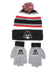 Winter Accessories - Star Wars Darth Vader Beanie Set-2419895