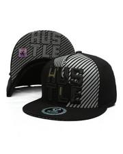 Hats - Hustle Spilt Snapback Hat-2419902