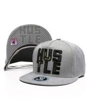 Hats - Hustle Spilt Snapback Hat-2419903