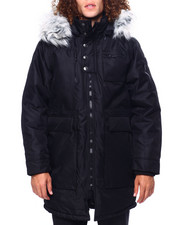 Heavy Coats - Parka w Faux Fur Hood-2419569