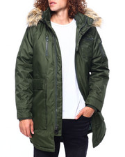 Heavy Coats - Parka w Faux Fur Hood-2419556