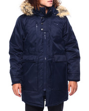 Heavy Coats - Parka w Faux Fur Hood-2419545