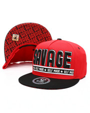 Hats - Savage Self Made Snapback Hat-2419900