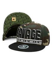 Hats - Savage Self Made Snapback Hat-2419899