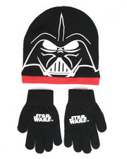 Winter Accessories - Star Wars Darth Vader Beanie Set-2419890