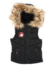 Outerwear - Canadian Weather Puffer Vest (4-6X)-2420337