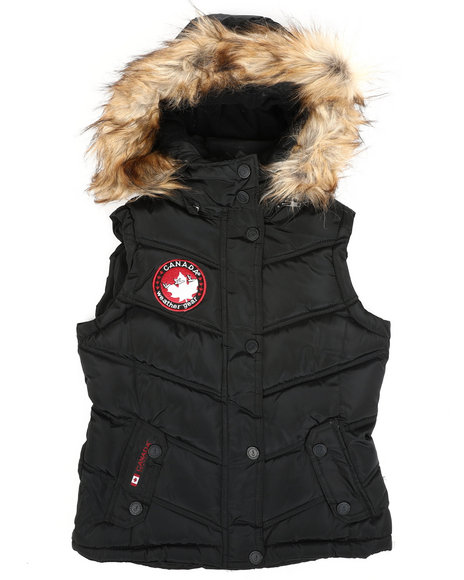 Canada Weather Gear - Canadian Weather Puffer Vest (7-16)