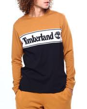 Timberland - L/S Cut & Sew Linear Logo T-2418740