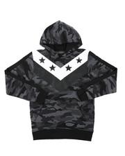 Hoodies - Camo Fashion Hoodie (8-18)-2418540