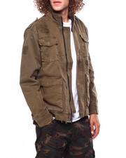 Jordan Craig - Distressed Field Jacket-2419094
