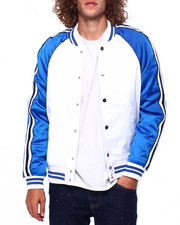 Jordan Craig - Satin Varsity Jacket w Tape Detail-2419151