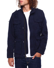 Jordan Craig - Distressed Field Jacket-2419087