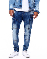 Mens-Fall - Denim Crargo Pant-2419450
