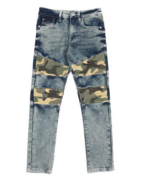 Arcade Styles - Camo Moto Jeans (8-20)